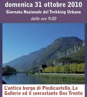 Locandina Trekking urbano 31/10/2010